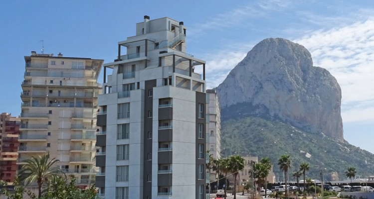 Luxury new build project in Calpe