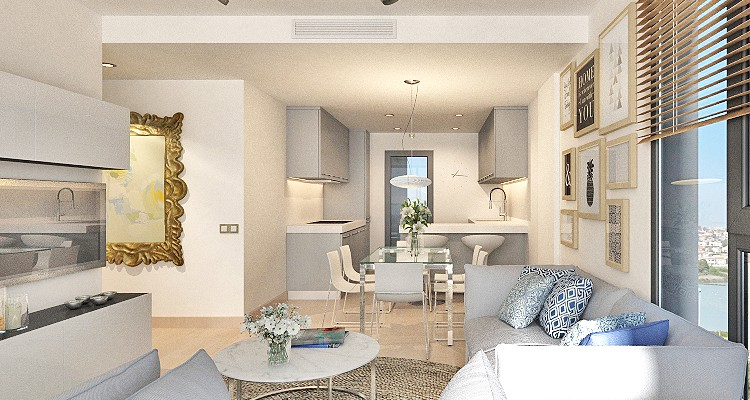 Brand new design penthouse in Calpe