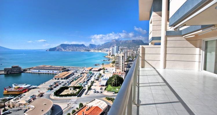 First Line Penthouse - Calpe